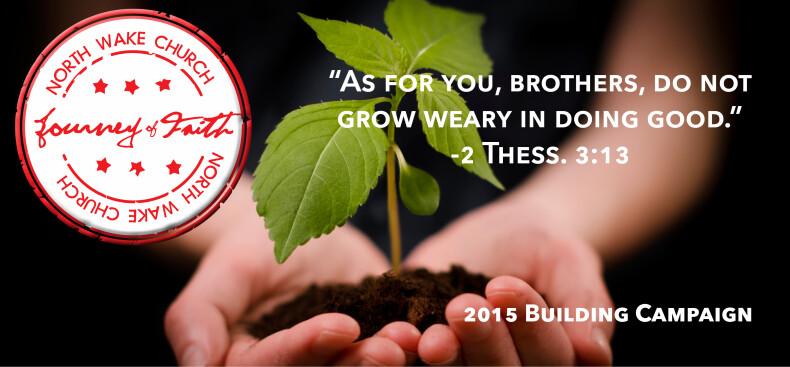 JOF 2015 Building Campaign
